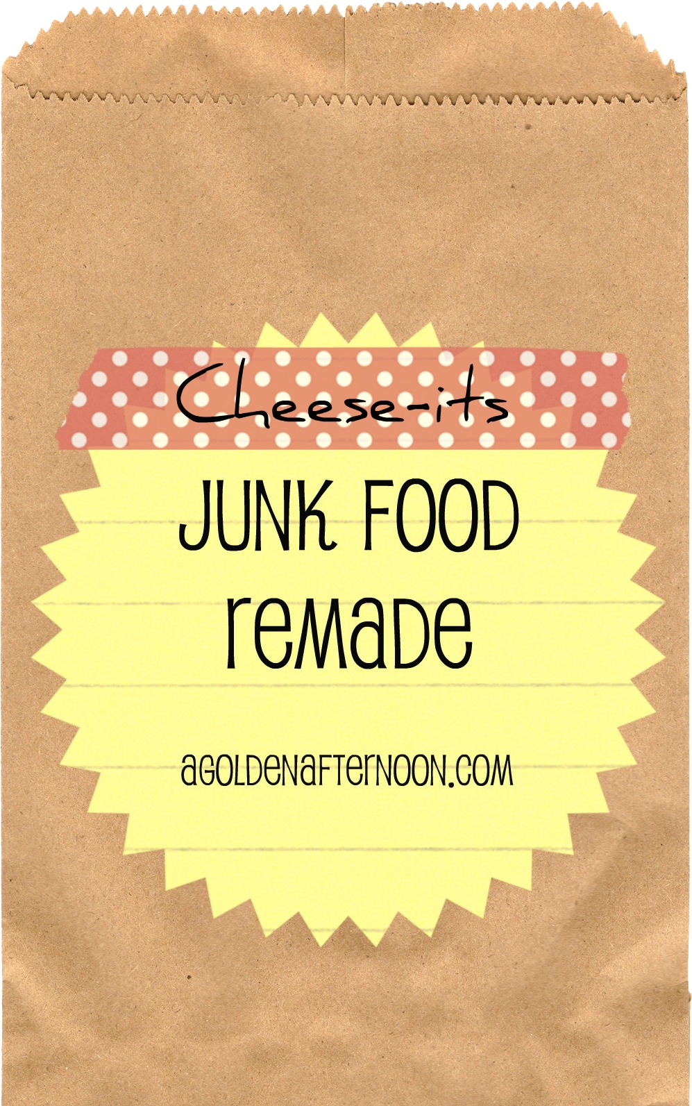 Junkfood Remade: Cheese-its - A Golden Afternoon: Simplified Home Living