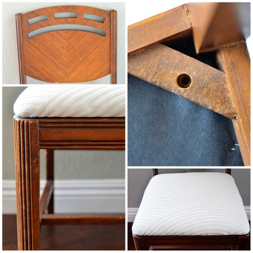 Old to New: Vintage Chair Re-do - A Golden Afternoon: Simplified Home Living
