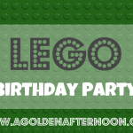 Snapshots of a LEGO party