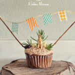 Let's Throw a Party: How to make a banner for a cake