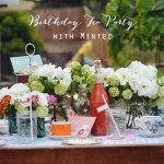 How to Throw a Tea Party with Minted