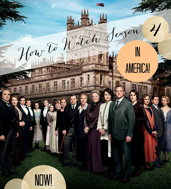 how to watch downton abbey season 4 in the u s a golden